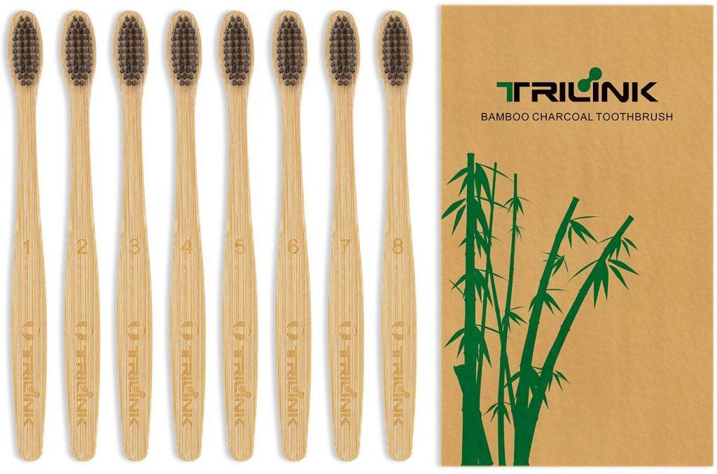 cepillos de bambu y carbon