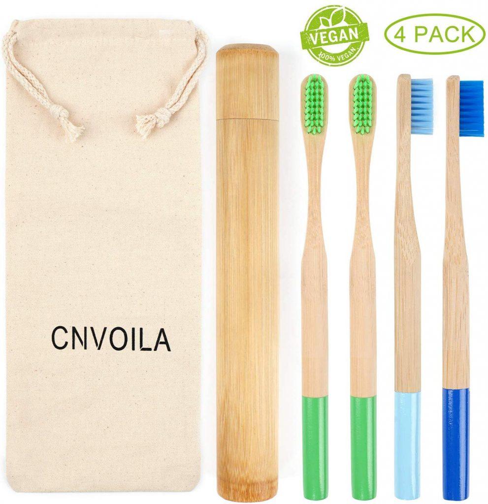cepillo de bambu natural