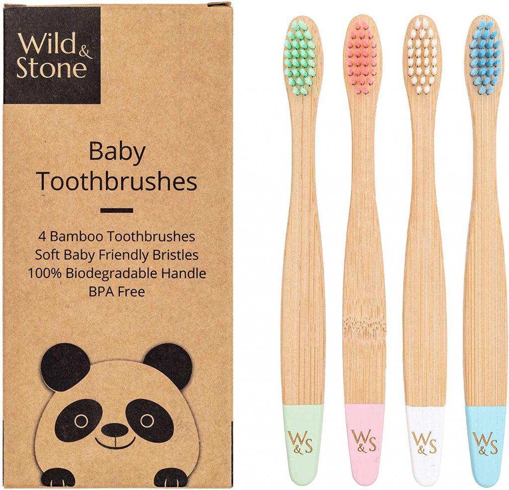 cepillo ecologico para bebes