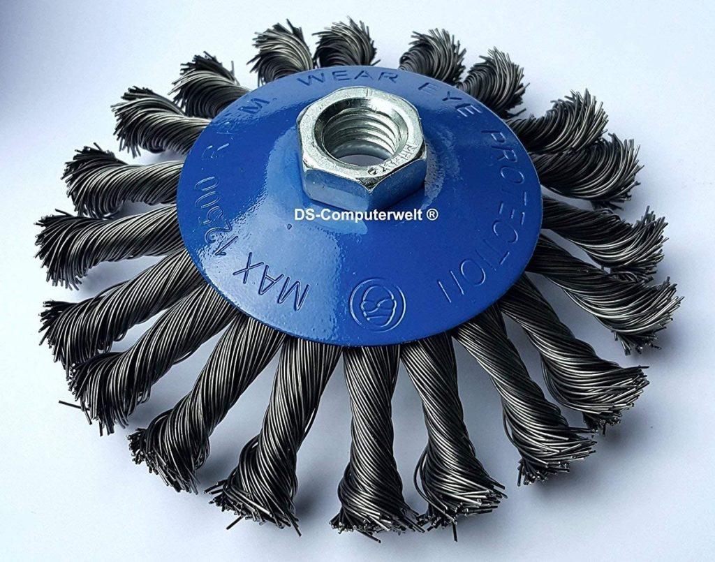 cepillo de alambre de acero