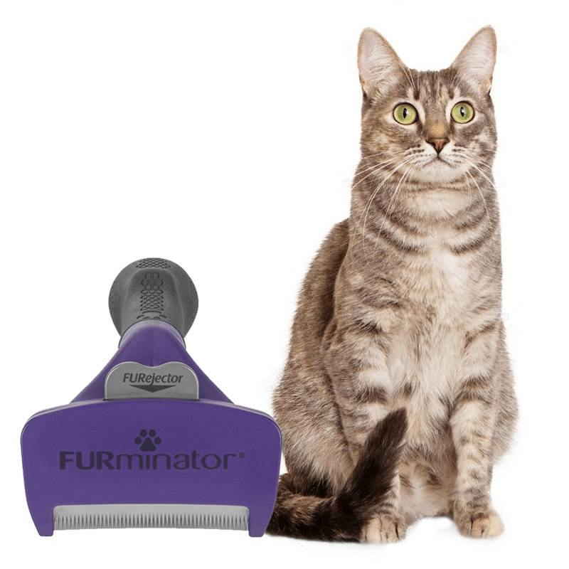 cepillo furminator para gatos