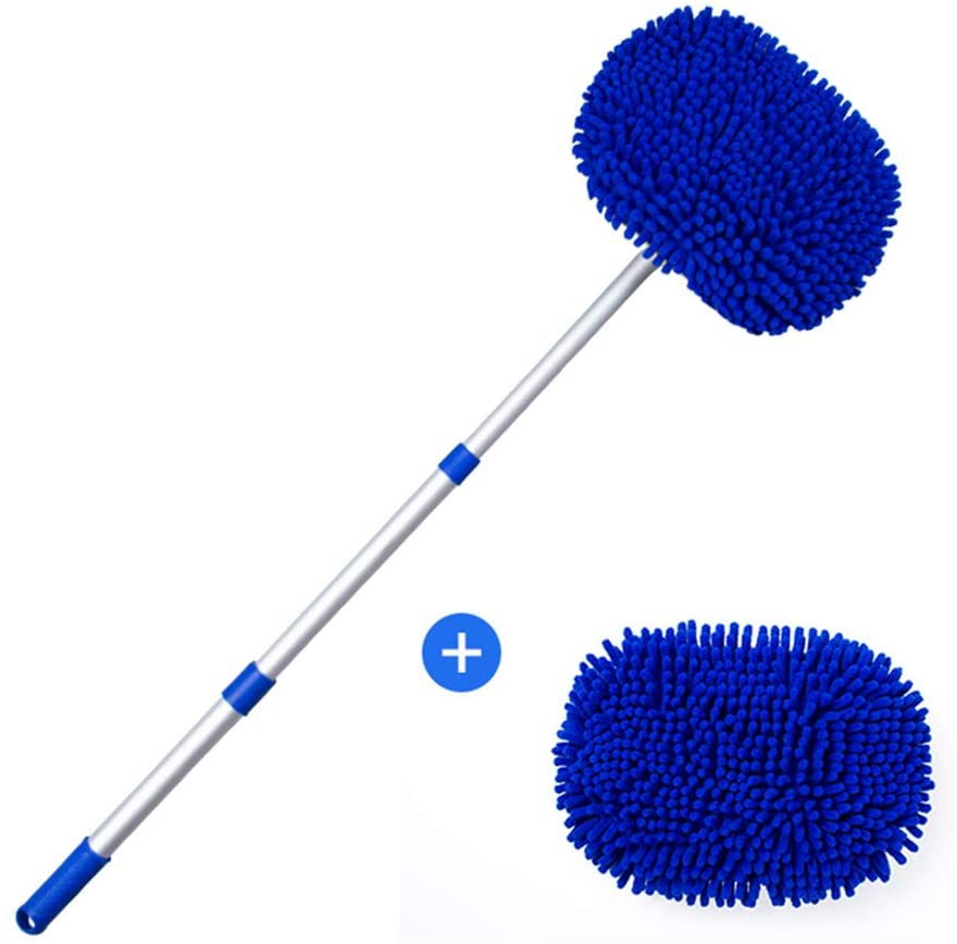 cepillo lavacoches con cerdas de chenille
