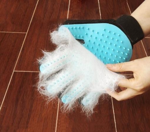 cepillo manopla para gato
