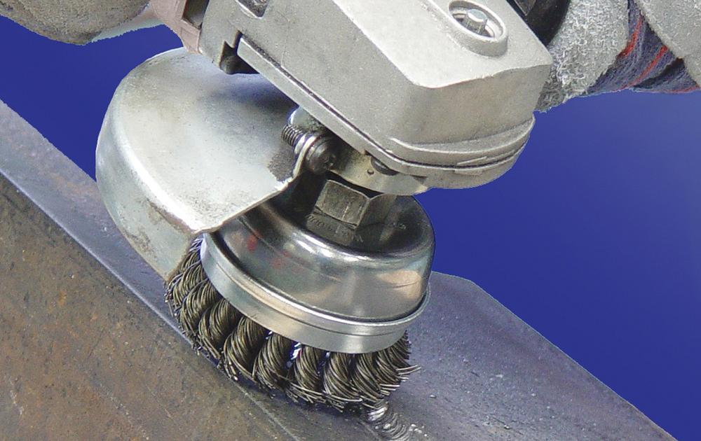 cepillo metalico precauciones