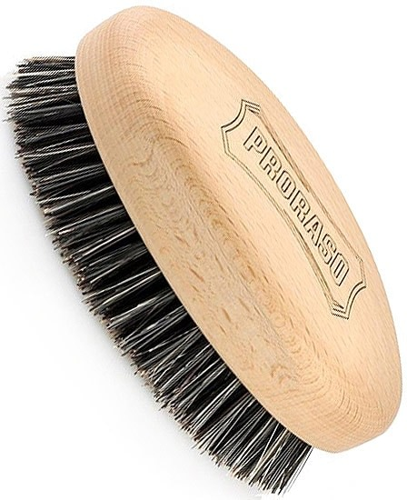 cepillo para barba de cerdas de jabali