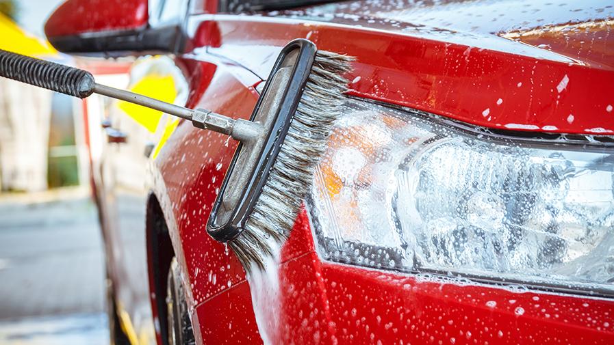 cepillo para lavar coches