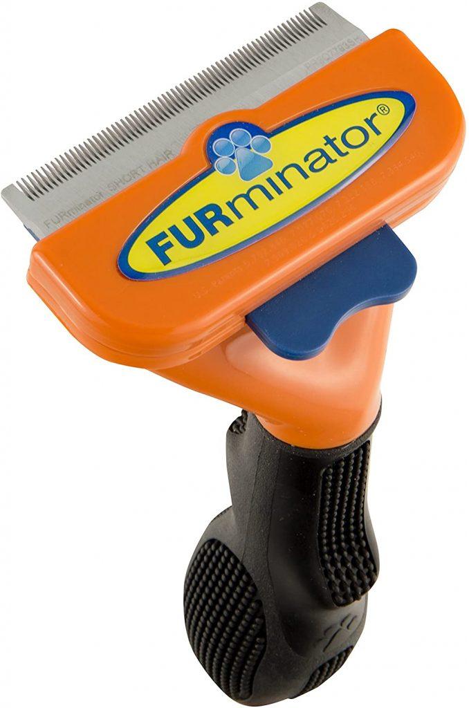 cepillo para perros medianos de pelo corto