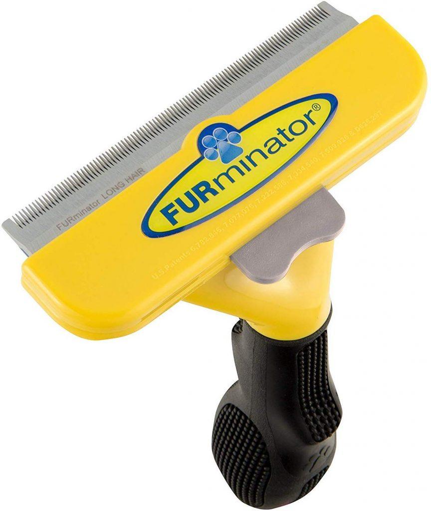 cepillo perros eliminar pelo largo