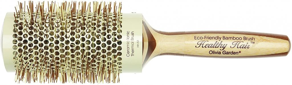 cepillo termico con mango de bambu