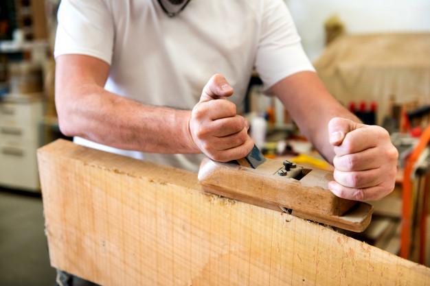 como usar para madera manual