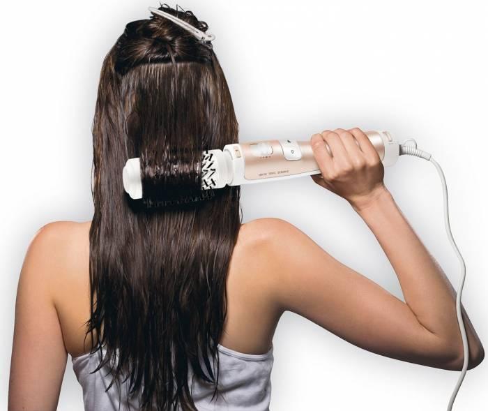 como usar cepillo secador