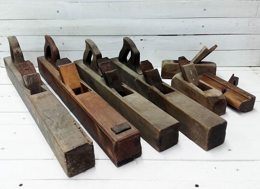 cepillo de carpintero antiguos