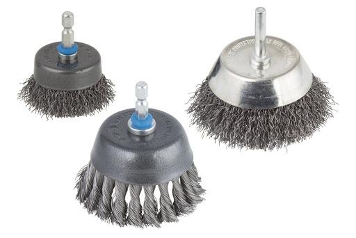 tipos de cepillos metalicos